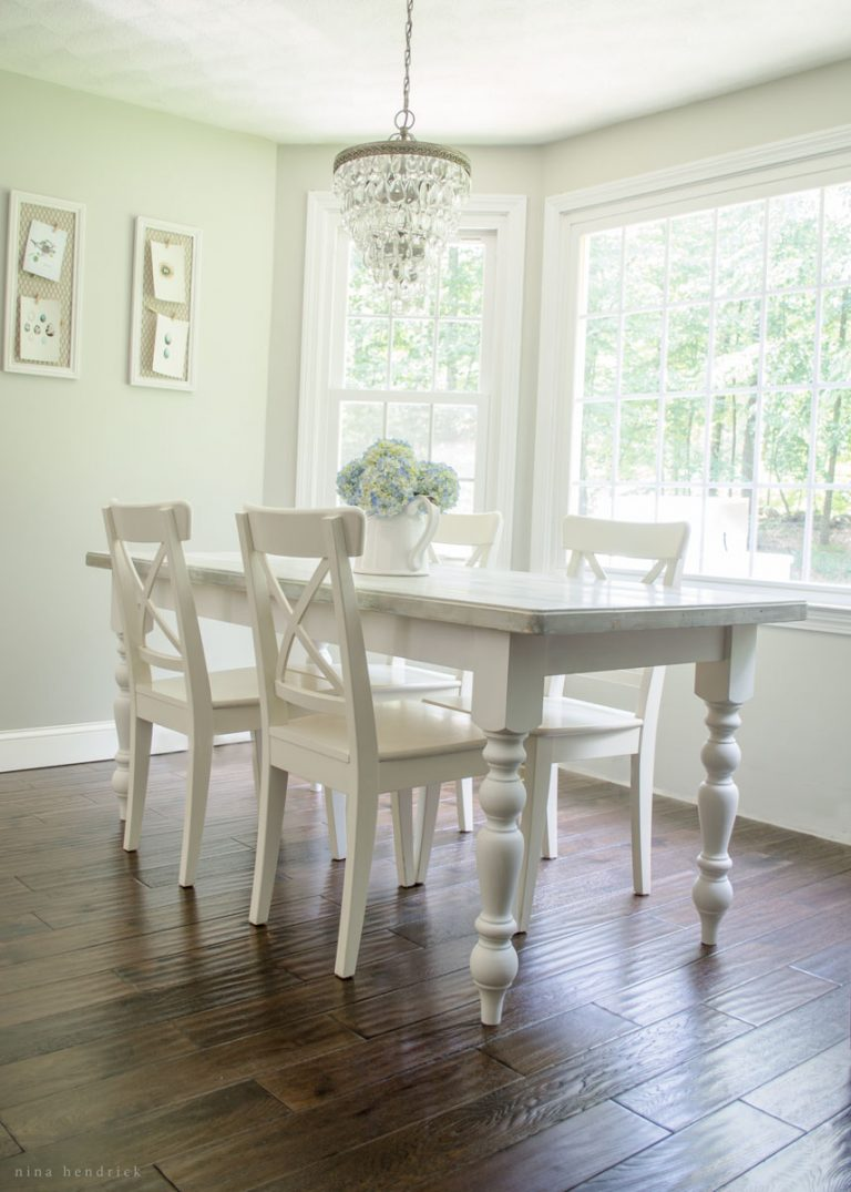 diy cottage style dining table