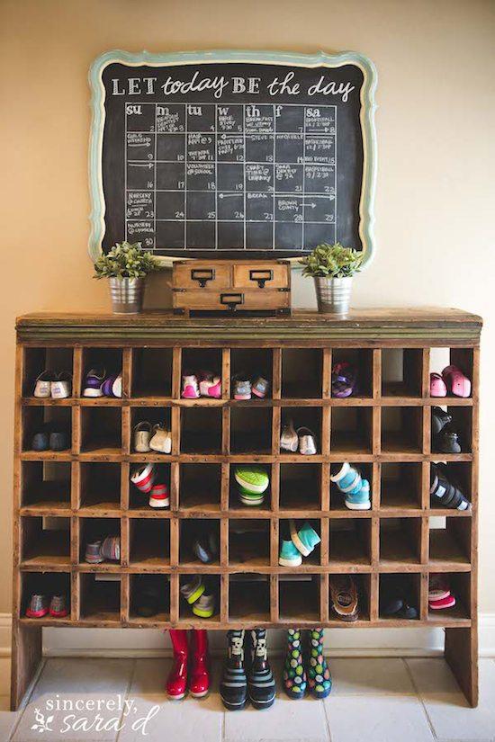Mirror Makeover Chalkboard Calendar