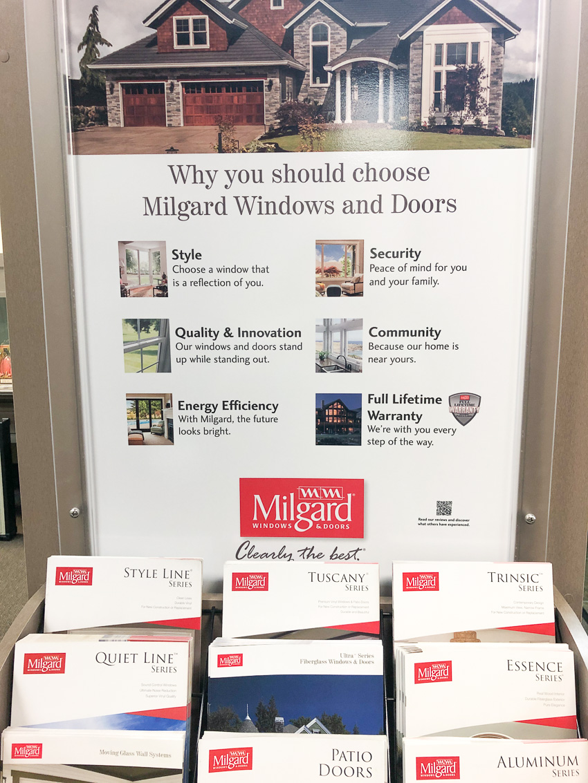 Milgard window display