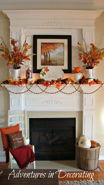 traditional orange fireplace mantel