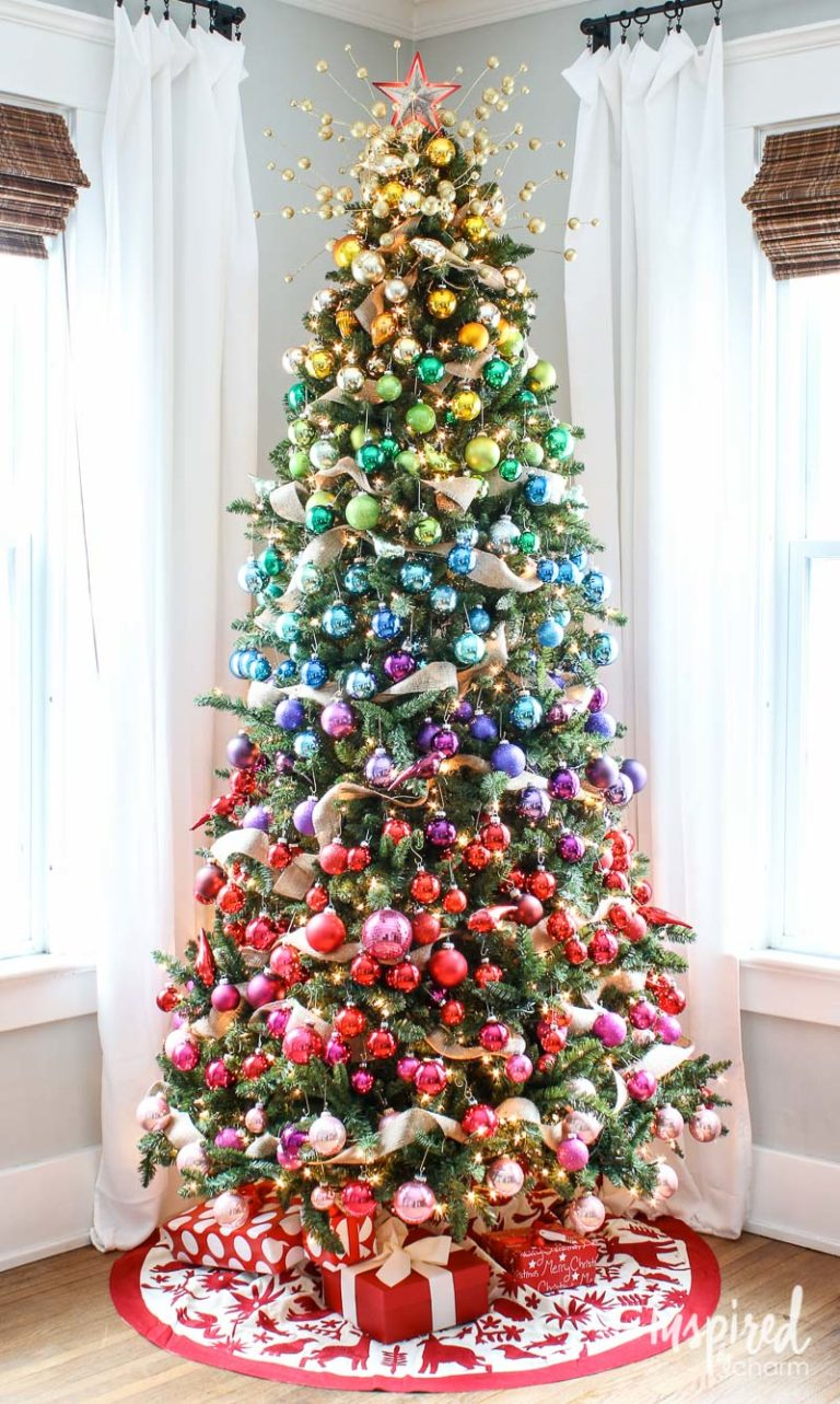 Christmas Tree Decorating Ideas The Turquoise Home