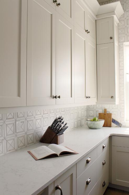 Edgecomb Gray cabinets