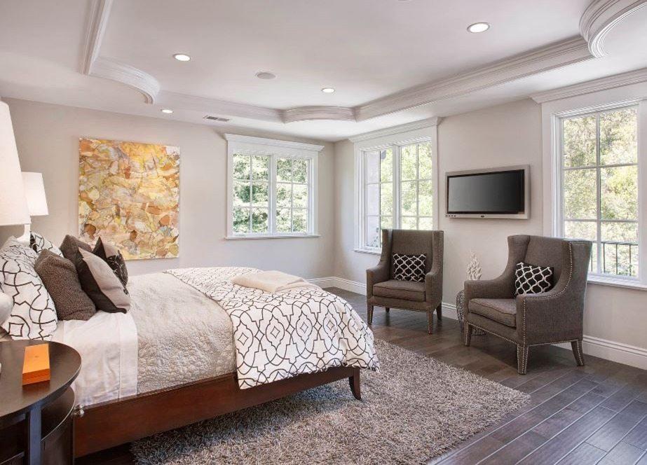 Edgecomb Gray in the bedroom
