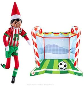 Elf on the Shelf Clothes: Soccer goal and goalie uniform