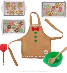 Baking set for Elf on the Shelf