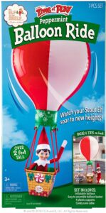 Elf on the shelf balloon ride accessory