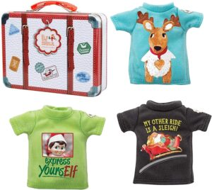 Elf on the Shelf T-Shirt Pack with Suitcase