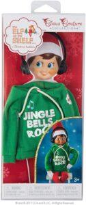 Jingle Jam Hoodie Set for Scout Elf